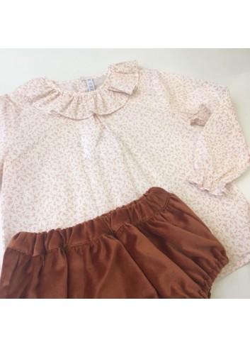 Culetin de terciopelo color caldero de Paloma de la O