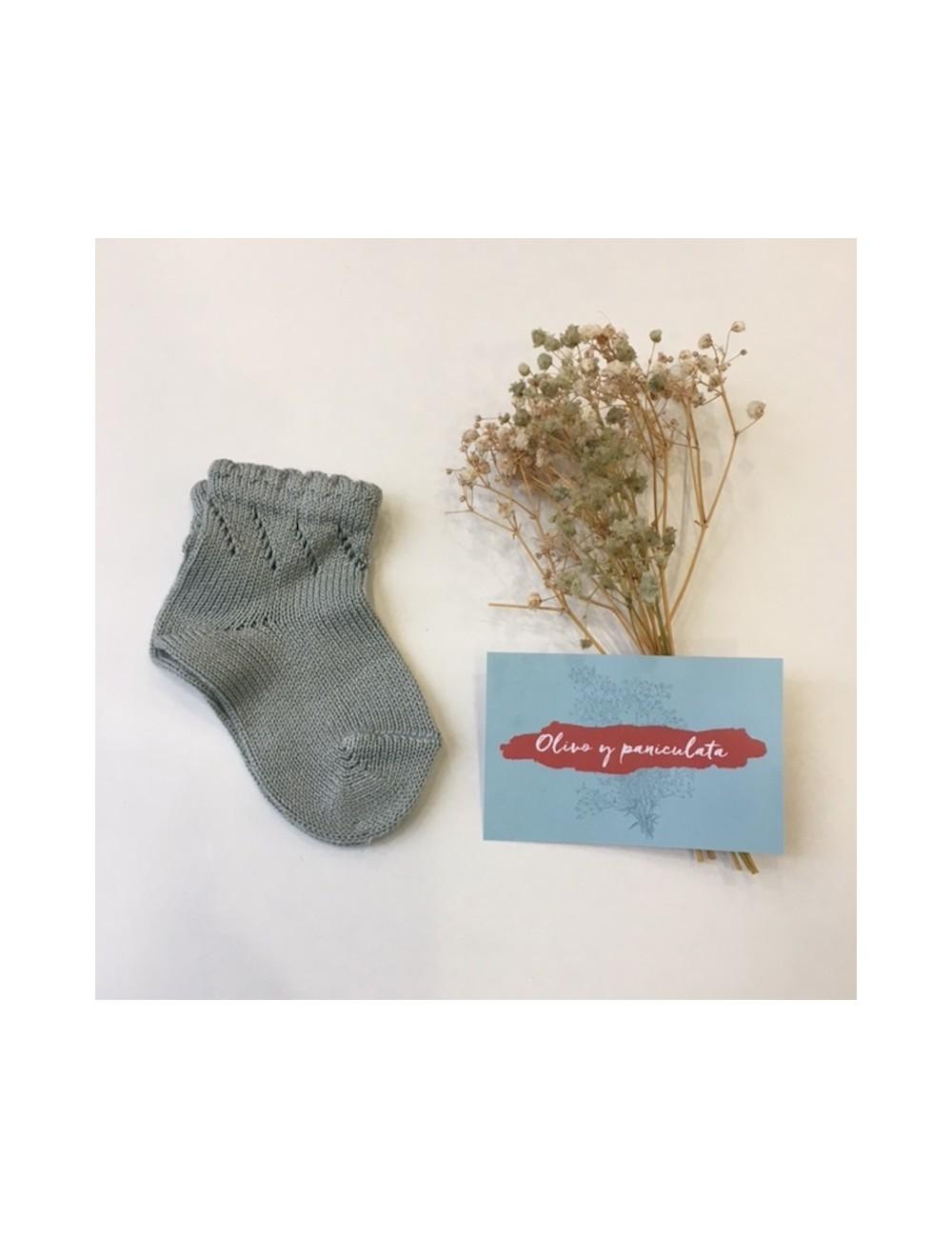 Calcetines cortos de perle calados de la marca Condor