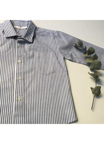 Camisa rayas azul de la marca Paloma de la O