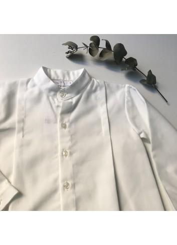 Camisa básica blanca de viella de la marca Paloma de la O
