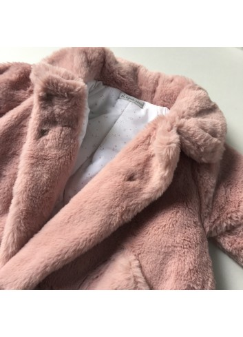 Abriguito de mouton color rosa de la marca Al agua patos
