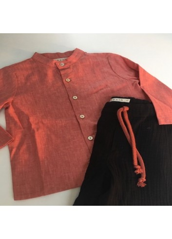 Camisa coral de la marca Mia y lia