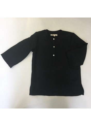 Camisa polera negra Mia y Lia