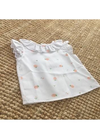 Blusa mandarinas Paloma de la o