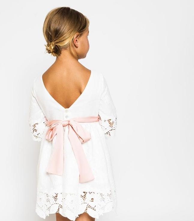Lazo vestido comunión
